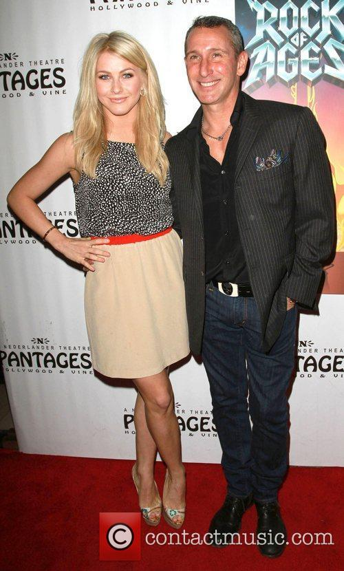 Julianne Hough and Adam Shankman 3