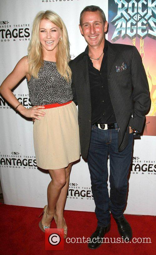 Julianne Hough, Adam Shankman