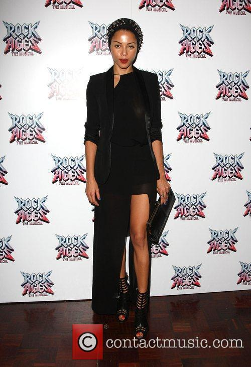 Ana Araujo Rock of Ages the musical gala...