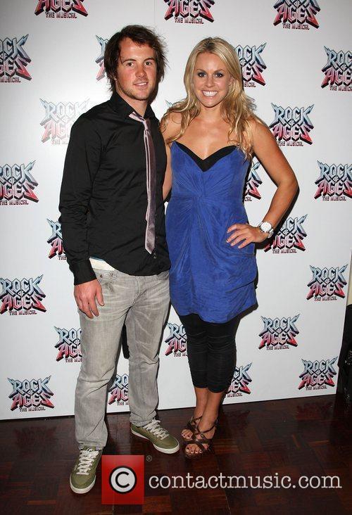 Chemmy Alcott and boyfriend Dougie Crawford Rock of...