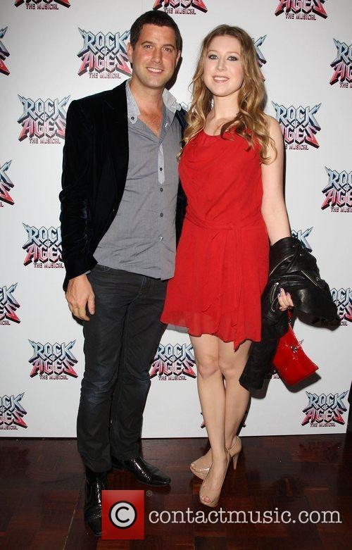 Hayley Westenra and boyfriend Rock of Ages the...
