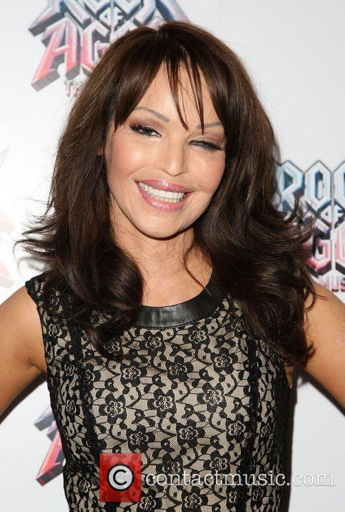 Katie Piper Rock of Ages the musical gala...