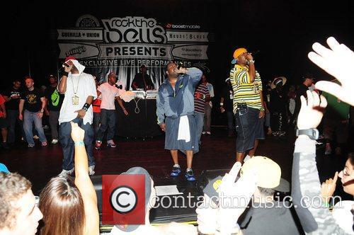 Raekwon, Dwayne Johnson, Ghostface Killah, Wu Tang Clan and Rock The Bells Concert 3