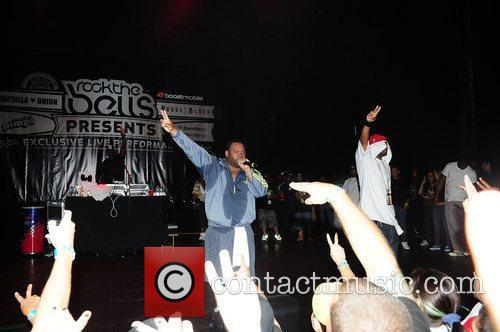 Raekwon, Dwayne Johnson, Ghostface Killah, Wu Tang Clan and Rock The Bells Concert 6
