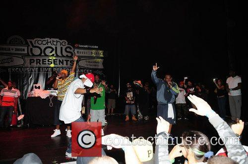 Raekwon, Dwayne Johnson, Ghostface Killah, Wu Tang Clan and Rock The Bells Concert 1