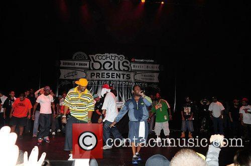 Raekwon, Dwayne Johnson, Ghostface Killah, Wu Tang Clan and Rock The Bells Concert 2