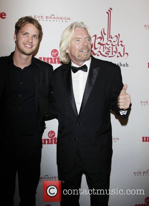Sam Branson and Richard Branson 1