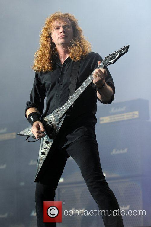 Dave Mustaine and Mayhem 1