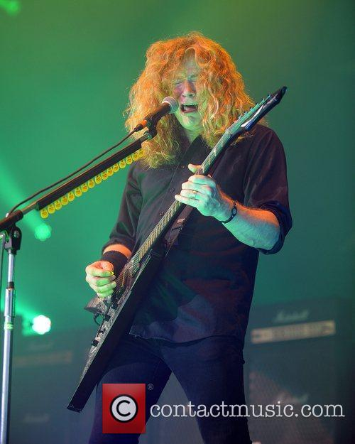 Dave Mustaine and Mayhem 11
