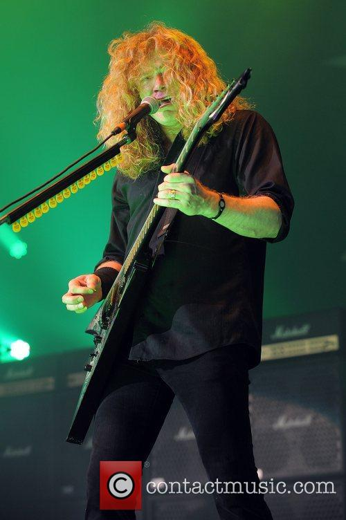 Dave Mustaine and Mayhem 2