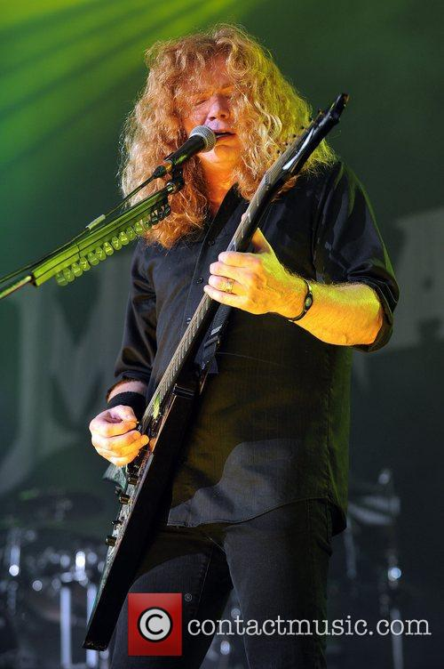 Dave Mustaine and Mayhem 4