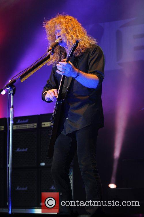 Dave Mustaine and Mayhem 6