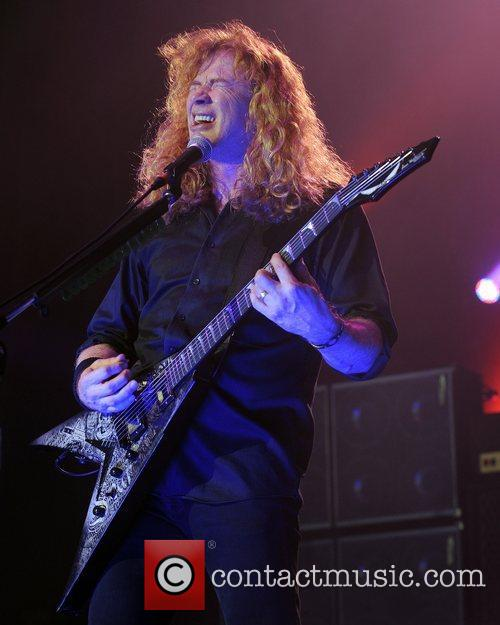 Dave Mustaine and Mayhem 3
