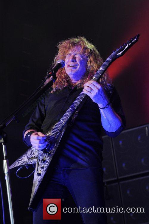 Dave Mustaine and Mayhem 9