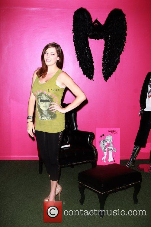 Celebrity appearances at Rockstars and Angels clothing store...