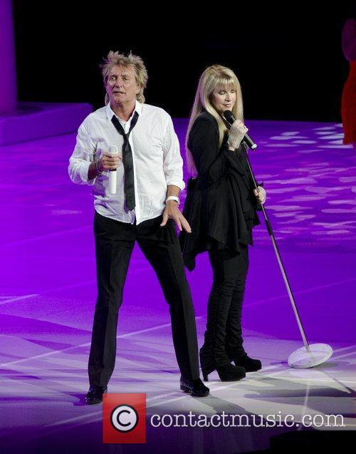 Rod Stewart and Stevie Nicks 5