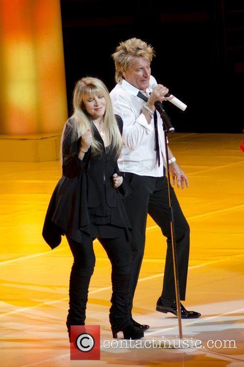 Stevie Nicks and Rod Stewart 5