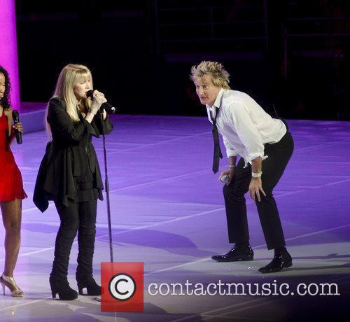 Stevie Nicks and Rod Stewart 10