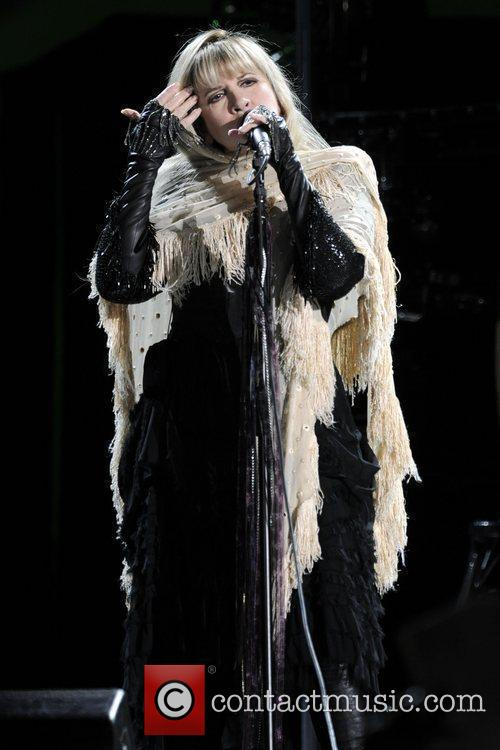 Stevie Nicks  performing on stage at The...
