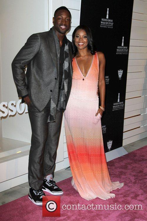 Dwyane Wade and Gabrielle Union 3
