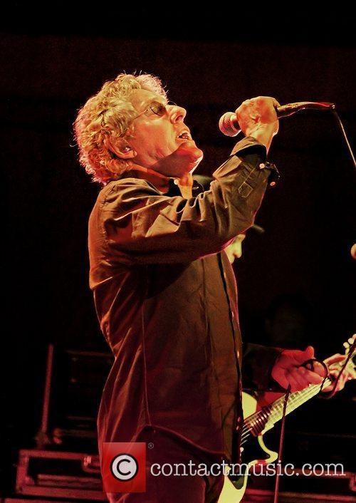Roger Daltrey performing at Manchester Bridgewater Hall.