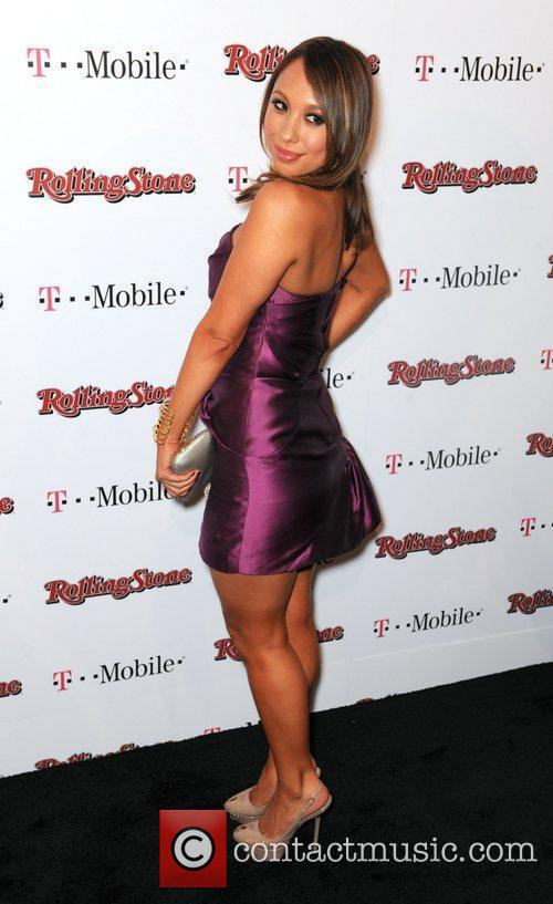 Cheryl Burke  Rolling Stone Award Weekend Bash...