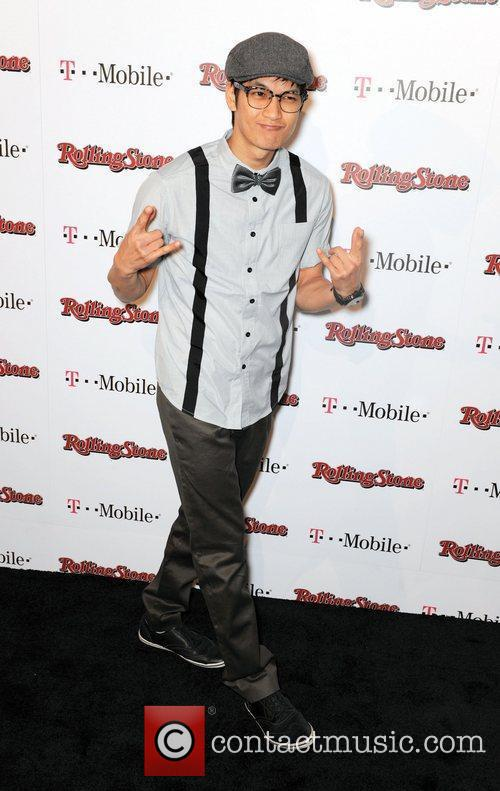 Harry Shum Jr.  Rolling Stone Award Weekend...