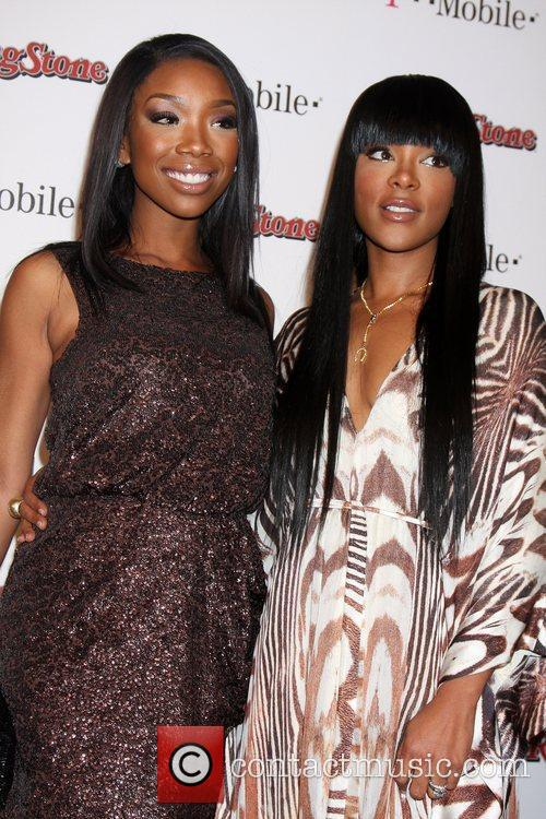 Brandy Norwood, Guest Rolling Stone Award Weekend Bash...