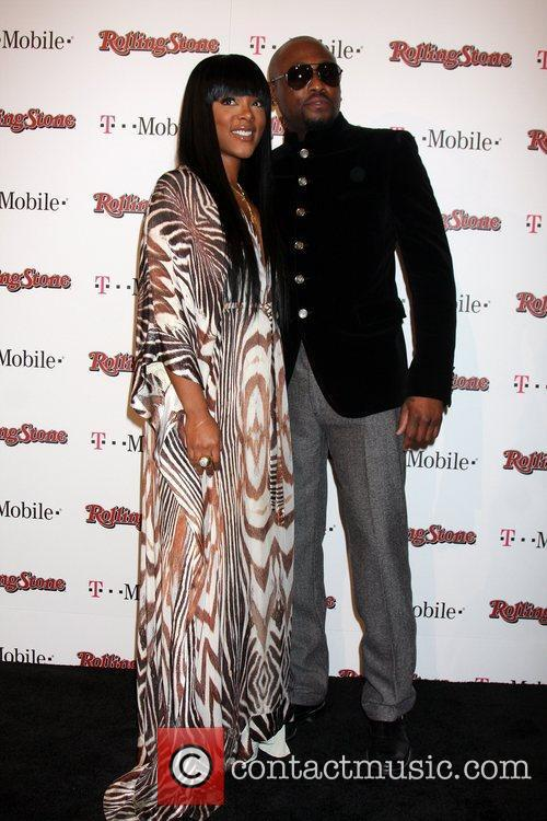 Omar Epps and Guest Rolling Stone Award Weekend...
