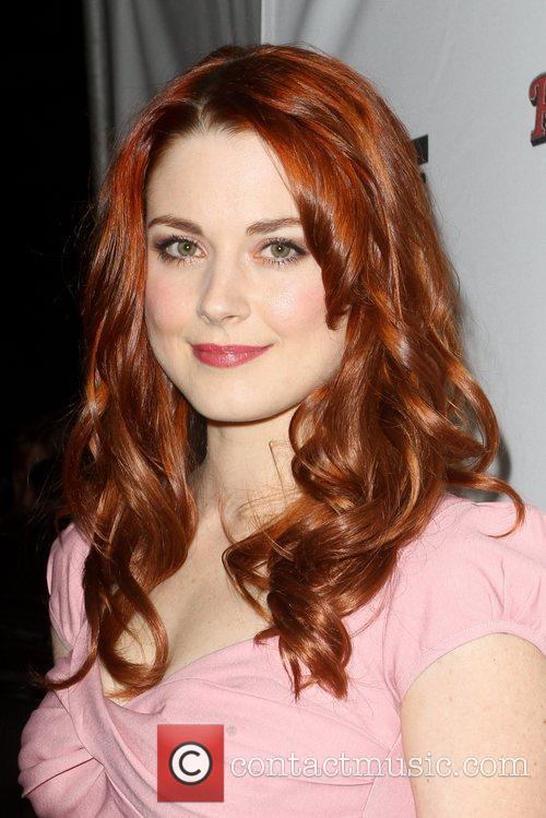 Alexandra Breckenridge attending Rolling Stone's AMA after party...