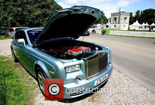 The new Rolls Royce 102EX Phantom showcased at...
