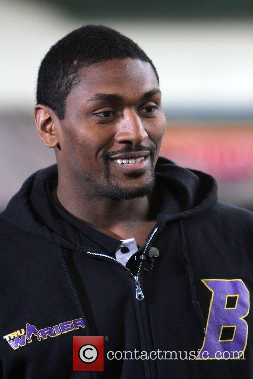 Ron Artest Los Angeles Lakers basketball player, Ron...