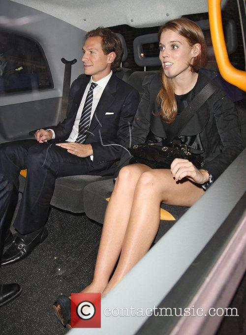 Dave Clark and Princess Beatrice 5