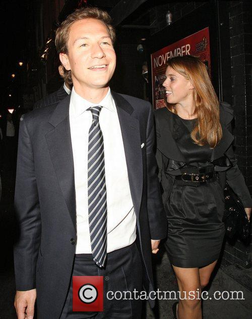 Dave Clark and Princess Beatrice 4