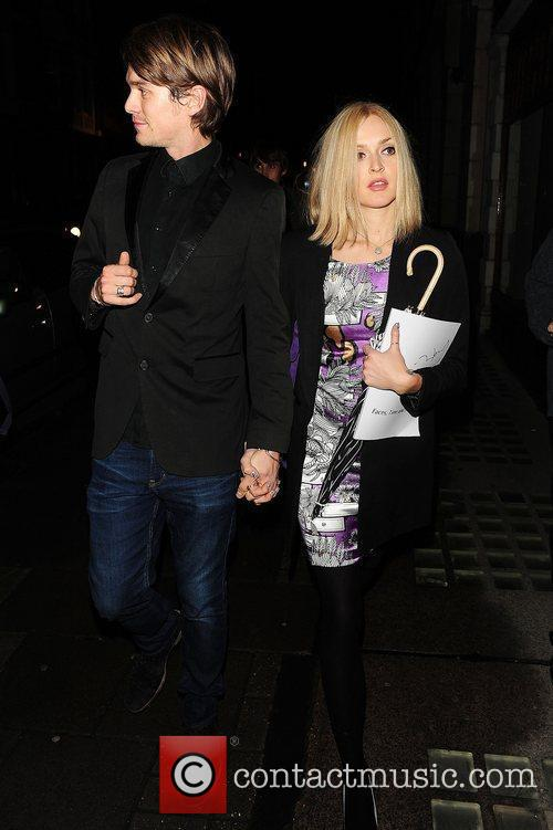 Jesse Wood and Fearne Cotton at Ronnie Wood:...