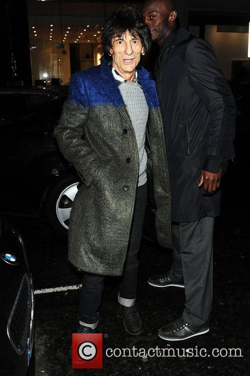 Ronnie Wood at Ronnie Wood: Faces, Time And...