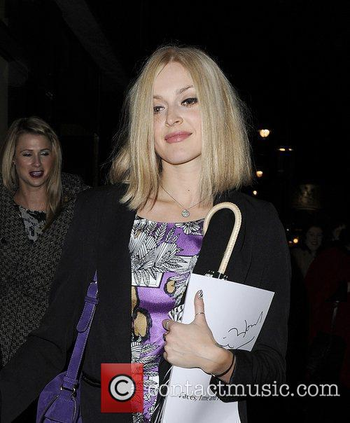 Radio One DJ Fearne Cotton at Ronnie Wood:...