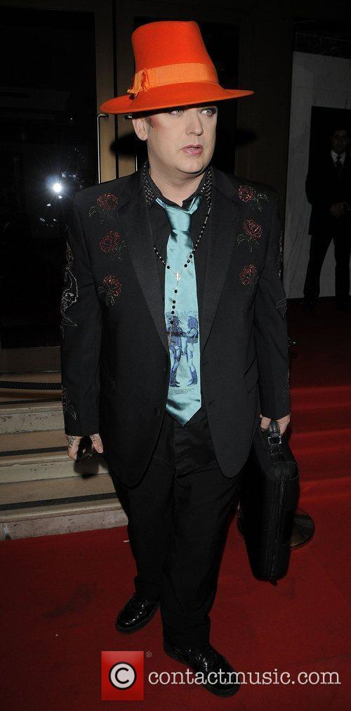Boy George arriving at the 30th Anniversary for...
