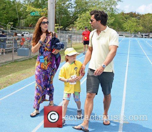 Cristian de la Fuente and his family The...