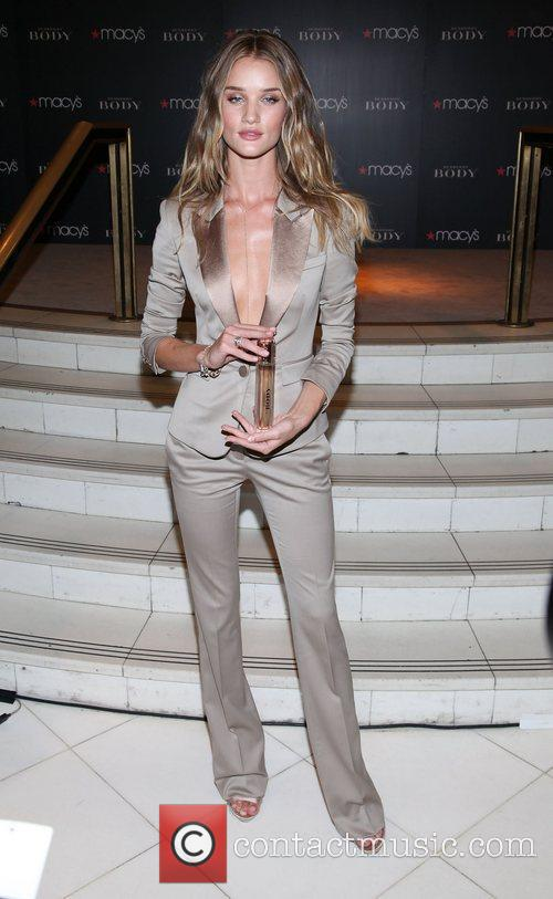 Rosie Huntington-Whiteley  unveils the new Burberry fragrance...