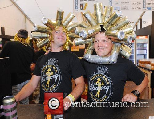 Atmosphere Roskilde Festival - Performances - Day Three...
