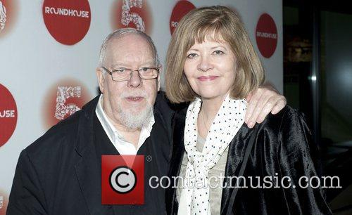 Peter Hall arrives at the Roundhouse 5th Birthday...