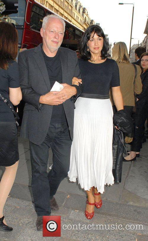 David Gilmour and wife Polly Samson
