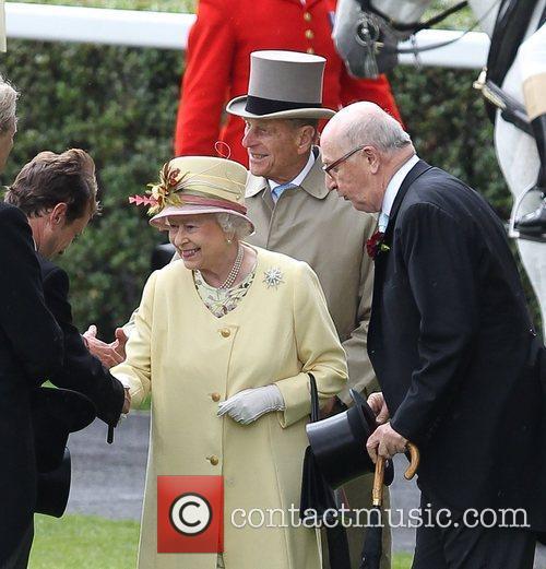 Queen Elizabeth II, Prince Philip Royal Ascot at...