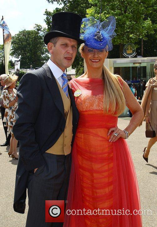 Jeremy Kyle and Carla Germaine  Royal Ascot...