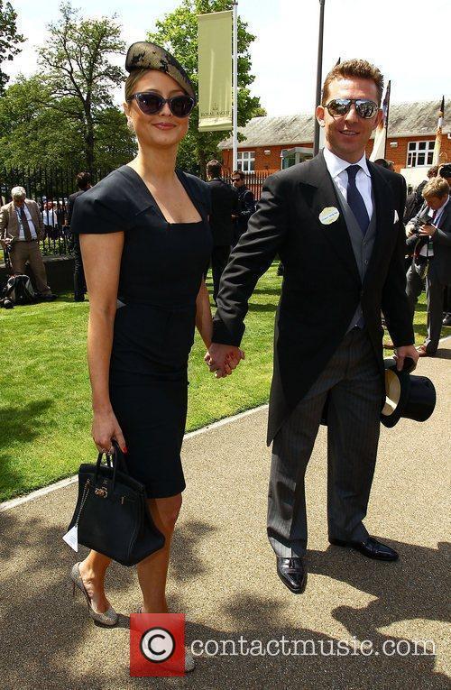 Holly Vallance and Nick Candy Royal Ascot at...