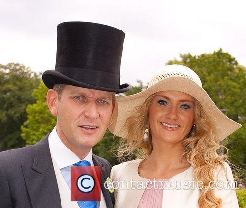 Jeremy Kyle, Carla Kyle Royal Ascot at Ascot...