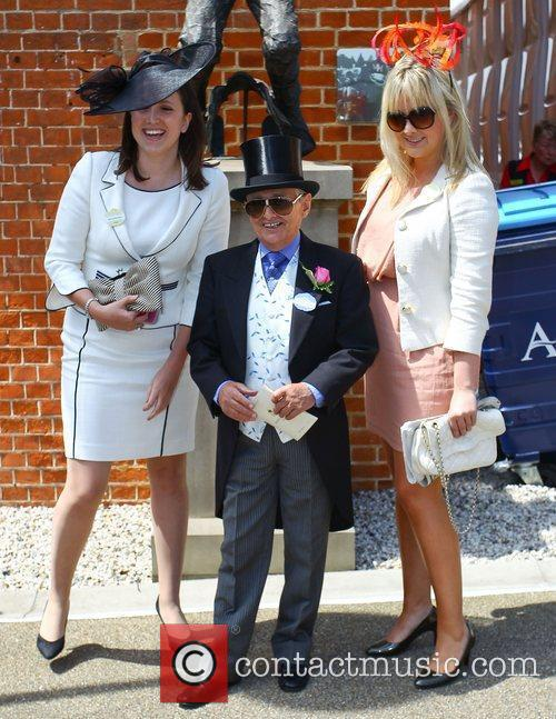 Willie Carson Royal Ascot at Ascot Racecourse Berkshire,...
