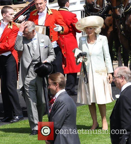 Charles, Prince of Wales and Camilla, Duchess of...