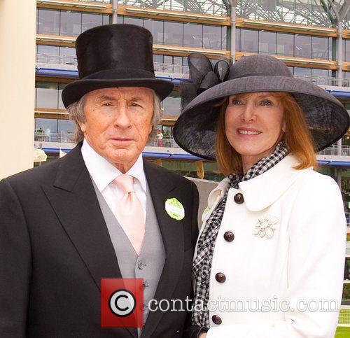 Sir Jackie Stewart and wife Royal Ascot at...
